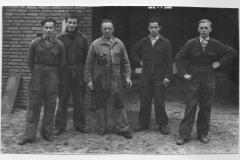 Datering 1953. Timmerbedrijf Reijbroek