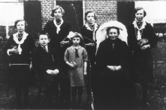 Datering 1931. familie Krol - Donkers