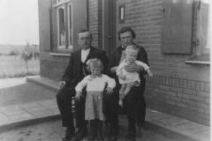 Datering 1937.  familie Wijers
