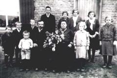 Datering 1925. Familie Marinussen - Klabbers