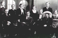Datering 1935. familie Wassenberg - Jaspers.