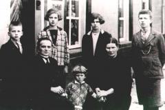 Datering onbekend. Familie Dekkers.