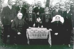 Datering 1923. Familie van Lankveld.