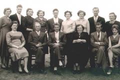 Datering onbekend. Familie Antoon en Elizabeth Mezenberg - van Berlo.