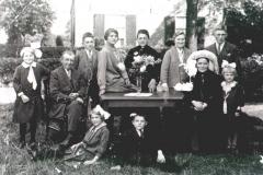 Datering onbekend. Familie Wassenberg, Zandhoek