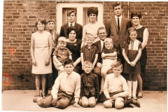 Datering 1967. Familie Klokgieter- Nouris.