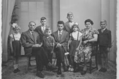 Datering 1955. fam. Vogels