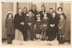 Datering 1958. familie vd Aa