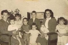 Datering 1956- 1957. Familie Albert van Alphen.