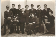 Datering 1958. Familie Kanters.