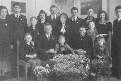 Datering 1950. Fam. Donkers