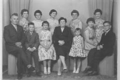 Datering 1959. Famillie  van de Boogaard