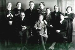 Datering 1937. Familie-Althuizen