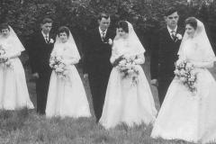 Datering 1960. huwelijk van Haandel