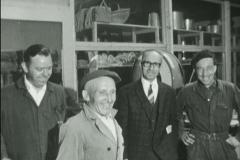 Datering 1964. Het personeel van de Boerenbond