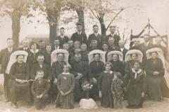 Datering 1935. zilveren bruidpaar Gijsbers - van Belo
