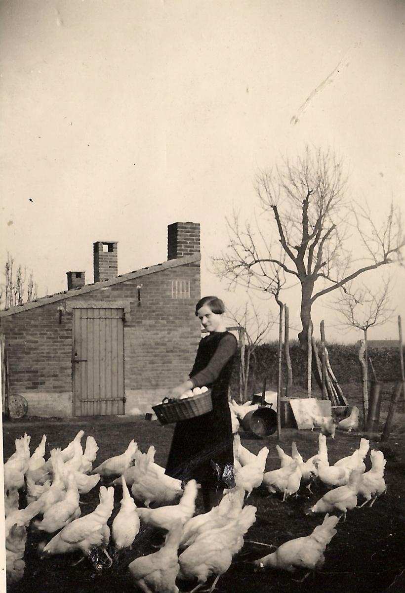 Datering 1940. Foto is genomen op de Neerbroek