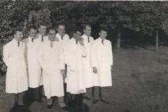 Datering 1963. eindexamen verplegers Huize Padua