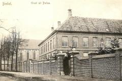 Datering onbekend. Huize Padua vanaf de Daniël de Brouwerstraat.