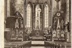 Datering 1900. Interieur van de kapel in Huize Padua.
