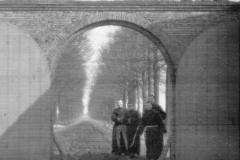 Datering 1900. Achter de poort de Wijde Peel