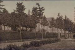 Datering 1907. Gezicht op de voorgevel