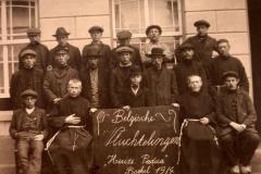 Datering 1914. Belgische vluchtelingen.