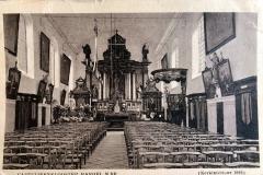 Datering 1923. Capucijnen kapel.