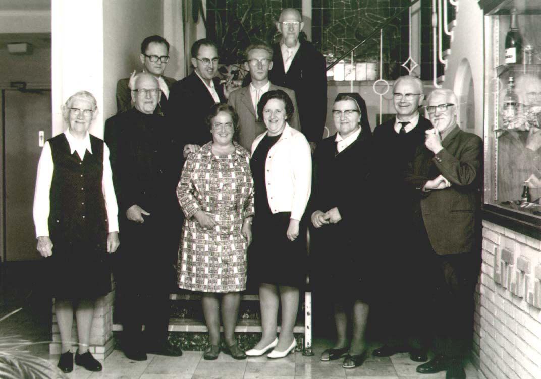 Datering onbekend. missionarissen