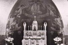 Datering 1958. Agathakerk altaar