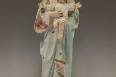 Mariabeeld met kind.