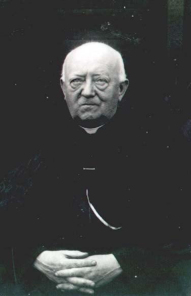Datering onbekend. Pastoor Josephus Maria Franciscus de Raad