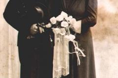 Datering 1942.  Antoon Vogels en Nel Vogels - Dekkers,