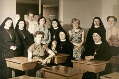 Datering 1956. StJosephschool-leerkrachten