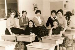 Datering 1960. Mariagaarde-leerkrachten
