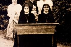 Datering 1961. Bernadetteschool-personeel