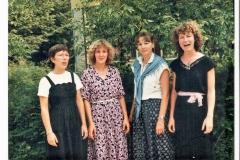 Datering 1980-1981. Rakkertjes-leerkrachten