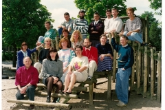 Datering 1992-1993. Regenboog-leerkrachten