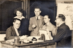 Datering 1955.  personeel-Corneliusschool-1955