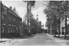 Datering 1962. Ansichtkaart van de kom van Venhorst
