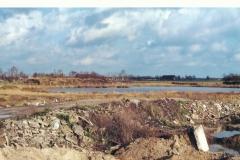 Datering 1975. Vuilnisbelt op de Voskuilenheuvel in Venhorst.