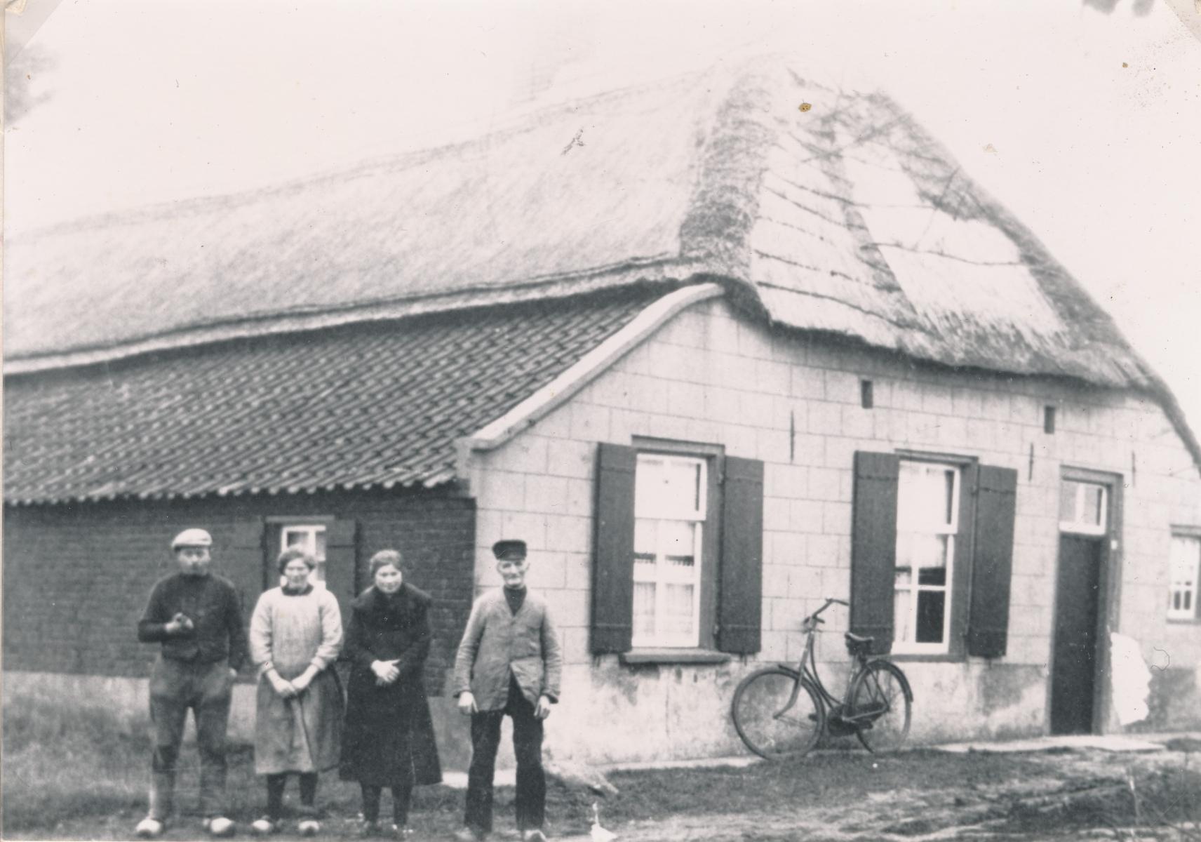 Datering 1930. Het huis van Ties Rutten