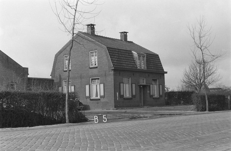 Datering 1965.  Het huis van Johan Jonkers