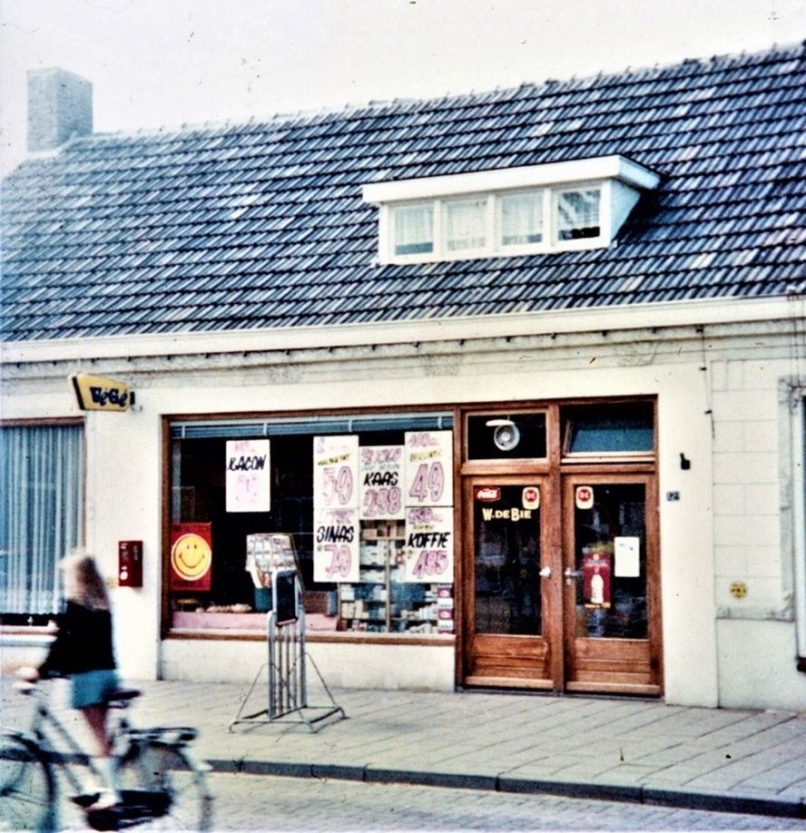 Datering onbekend.. Vege-winkel Kerkstraat