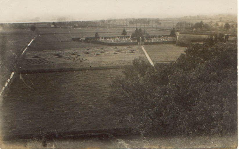 Datering 1924. Gezicht op Boekel