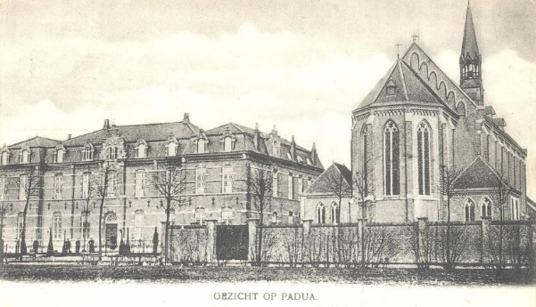 Datering onbekend. Huize-Padua