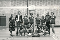 Datering 1980. Unitas volleybalvereniging.