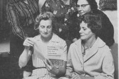 Datering 1960. RK Vrouwengilde Sint Anna.