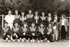 Datering 1985. KPJ handbalclub.
