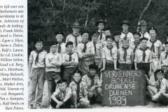 Datering 1989. Scouting